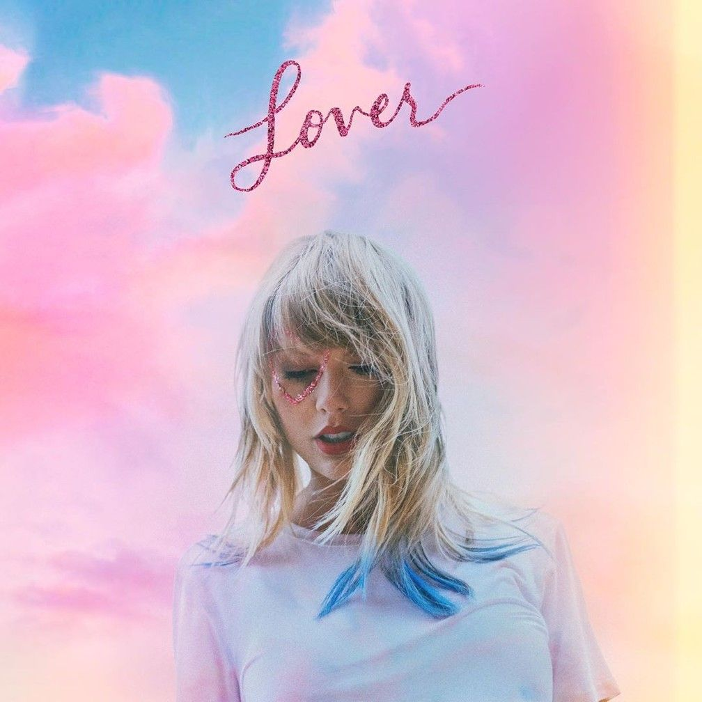 Capa do álbum Lover, de Taylor Swift
