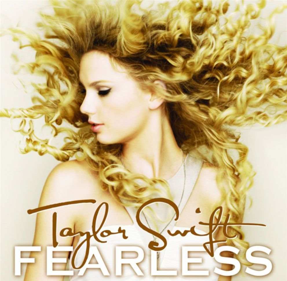 Capa do álbum Fearless, de Taylor Swift