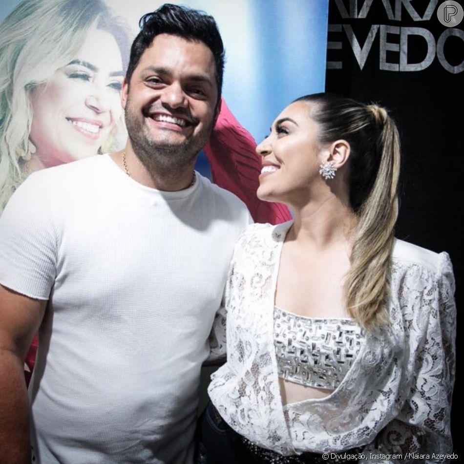 Rafael Cabral e Naiara Azevedo
