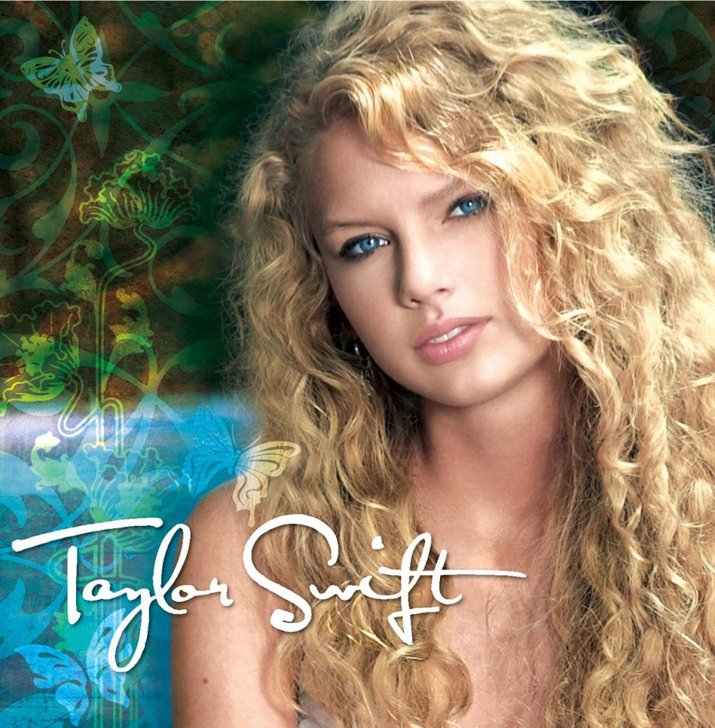 Capa do álbum Taylor Swift