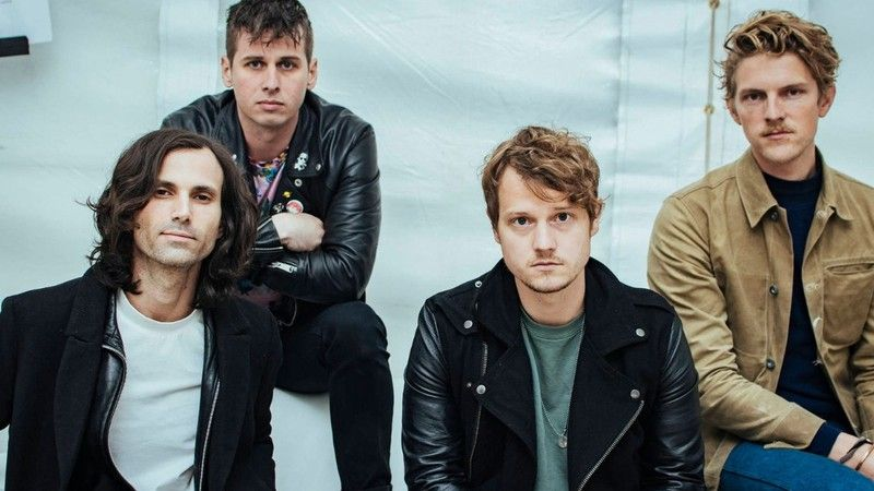 Integrantes da banda Foster The People, criadora da música Pumped Up Kicks