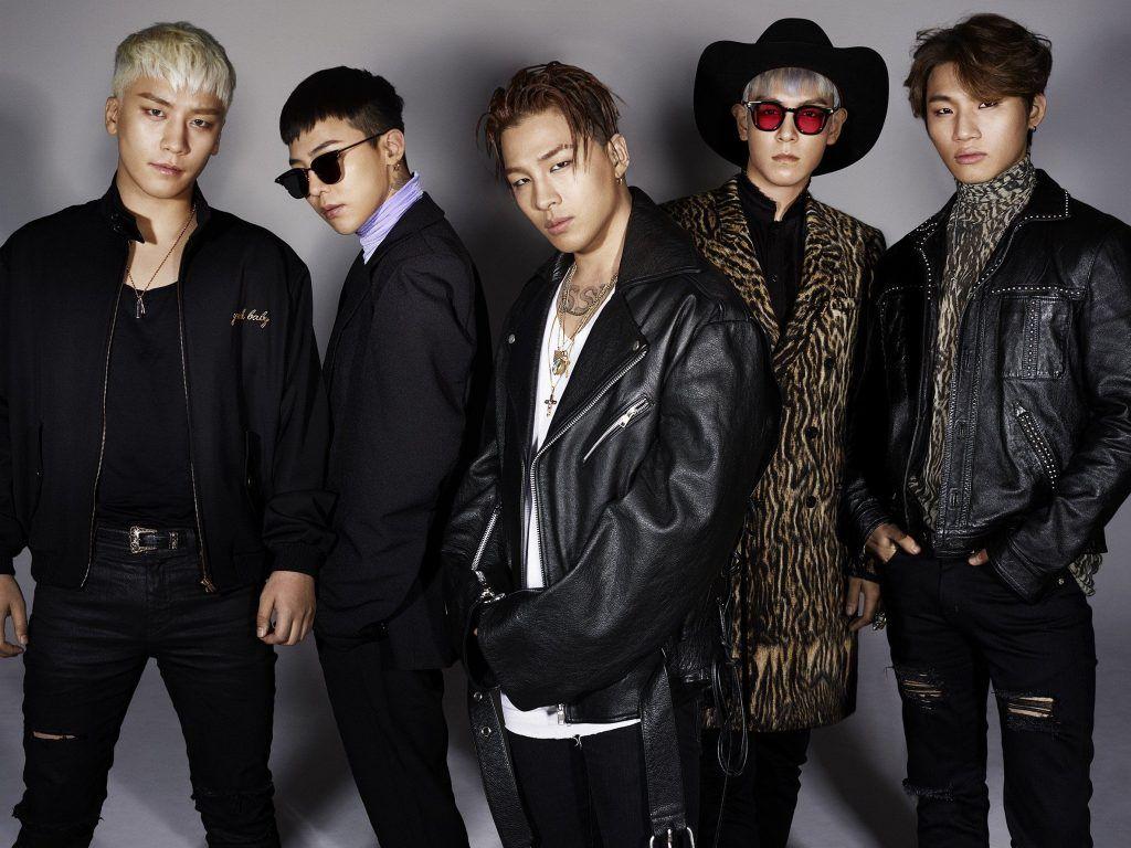 Grupo de k-pop Big Bang