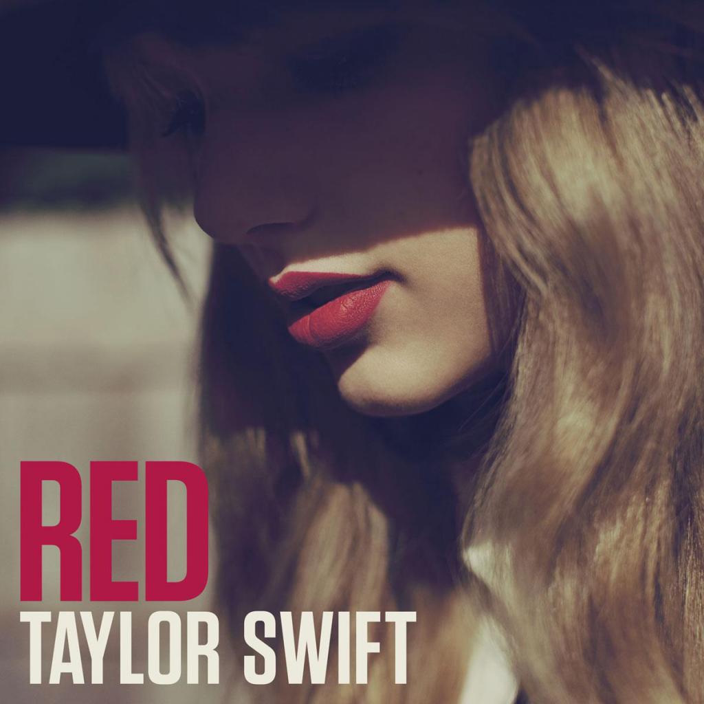 Capa do álbum Red, de Taylor Swift