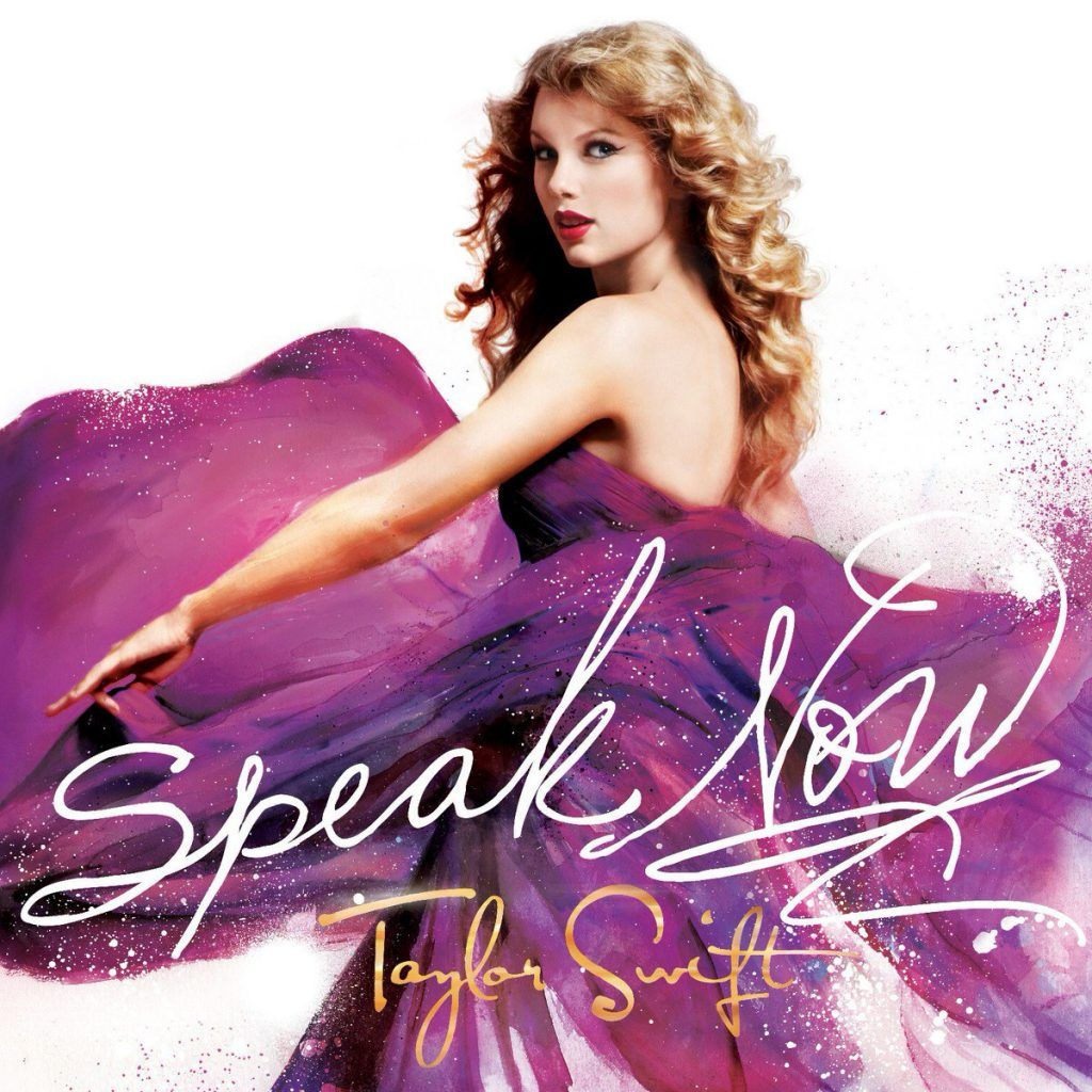 Capa do álbum Speak Now, de Taylor Swift