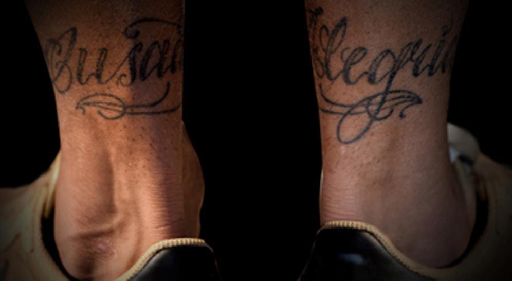 Tatuagem da música Ousadia e Alegria