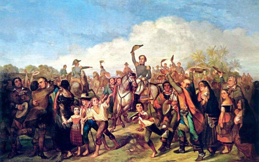 A proclamação da Independência, de François-René Moreaux