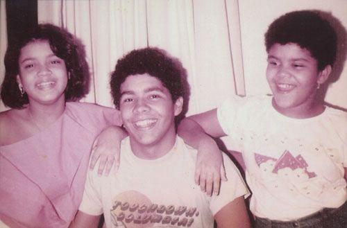 Preta, Pedro e Maria, filhos de Gilberto Gil com Sandra Gadelha