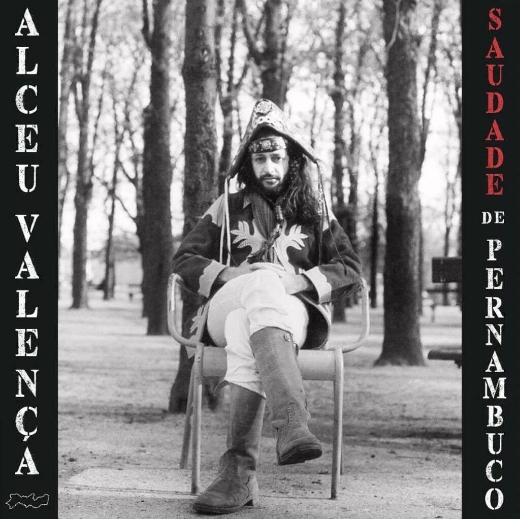 """Capa do álbum """"Saudade de Pernambuco"""" de Alceu Valença"""