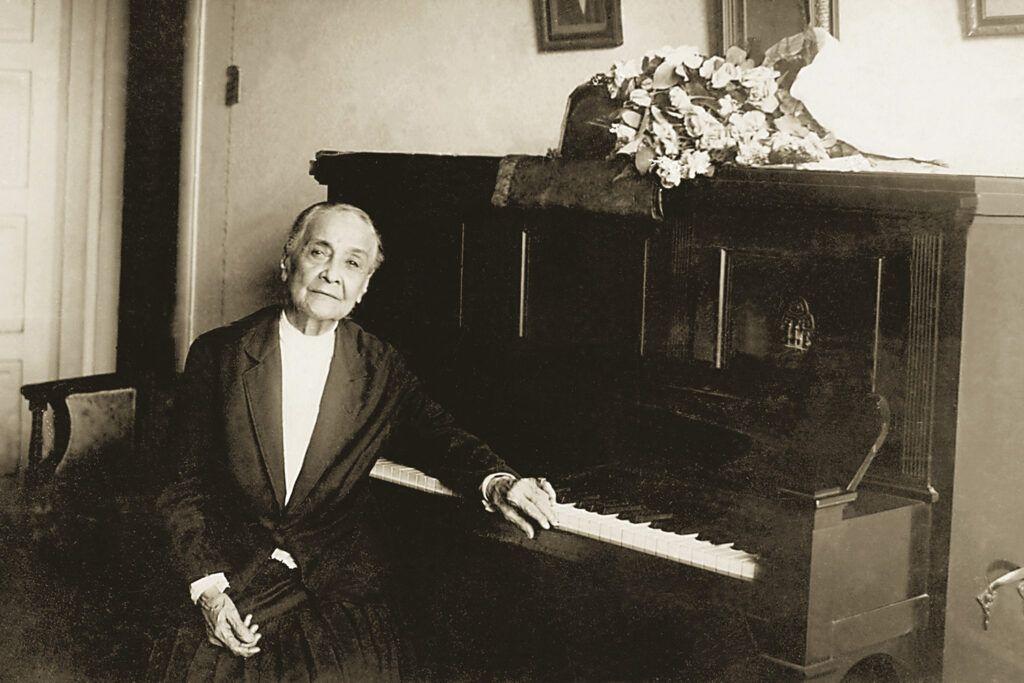 Chiquinha Gonzaga, cantora Brasileira antiga