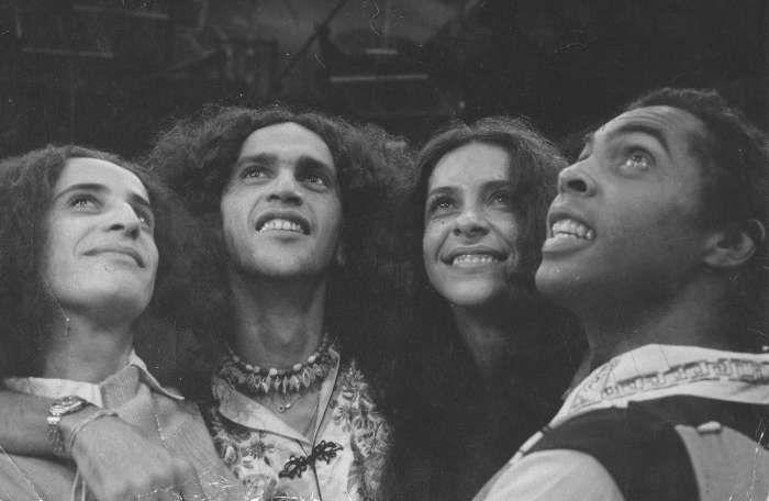 Maria Bethânia, Caetano Veloso, Gal Costa e Gilberto Gil, grandes nomes da MPB