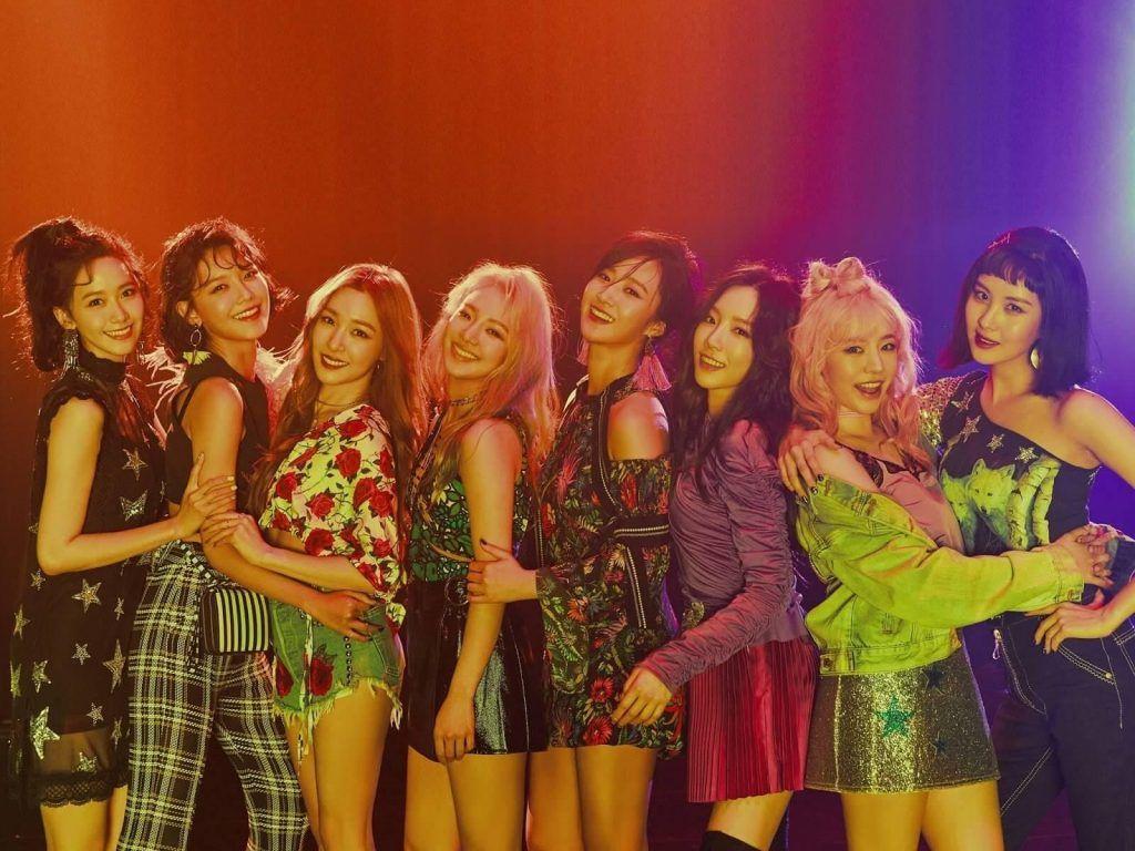 Girl Group de k-pop Girls' Generation