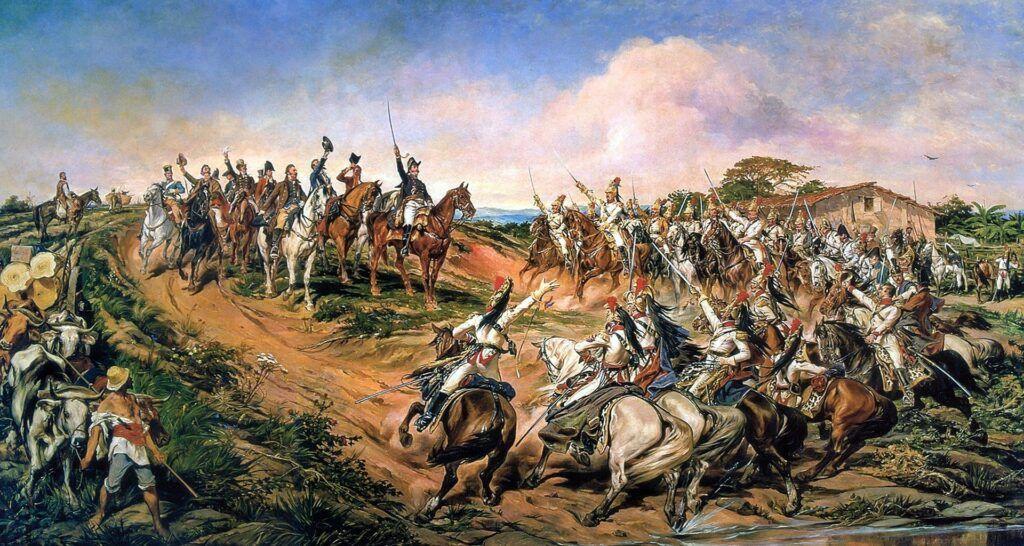 Pintura Independência Ou Morte, de Pedro Américo