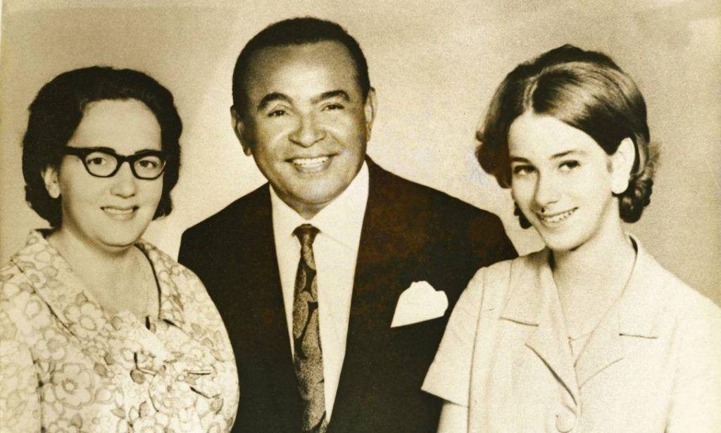 Helena Cavalcanti, Luiz Gonzaga e sua filha adotiva, Rosa Gonzaga
