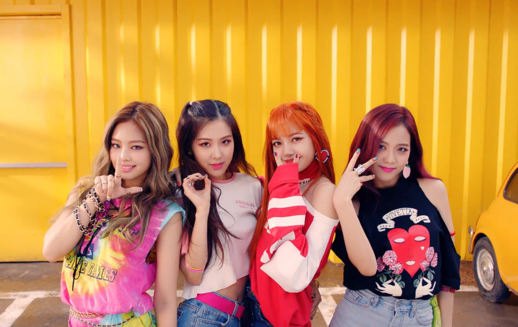 Girl Group de k-pop BLACKPINK