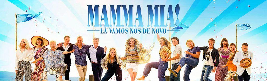 Playlist do filme Mamma Mia! Lá Vamos Nós De Novo