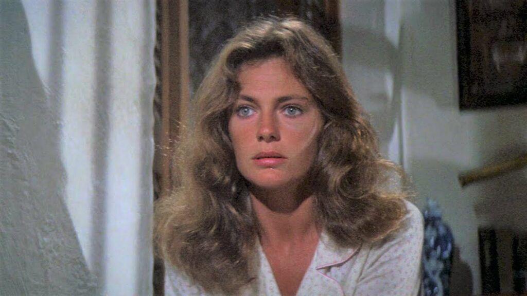 Atriz Jacqueline Bisset nos anos 70
