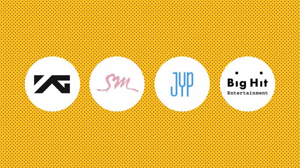 Big 4 agências de k-pop