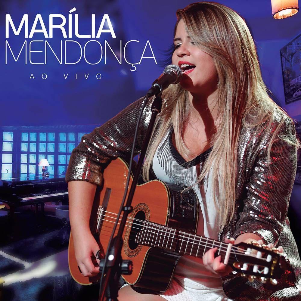 Capa do álbum Marília Mendonça Ao Vivo