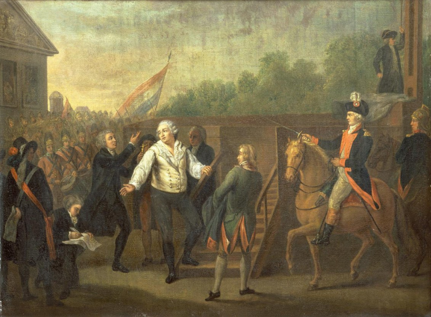 Luis XVI, por Charles Benazech