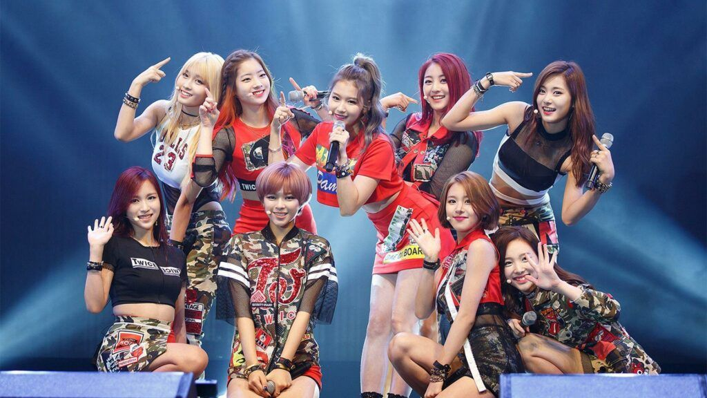 Grupo de k-pop TWICE