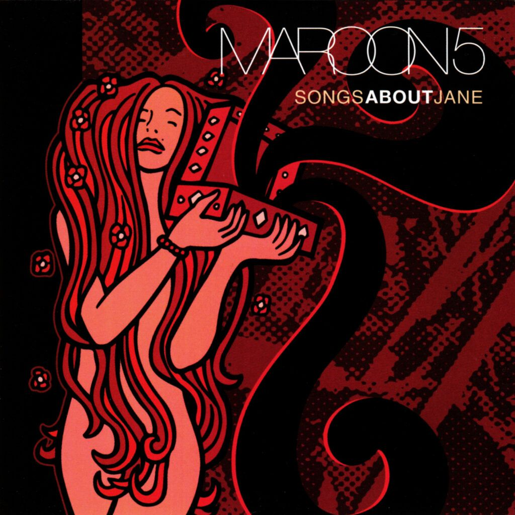 Capa do álbum Songs About Jane, do Maroon 5
