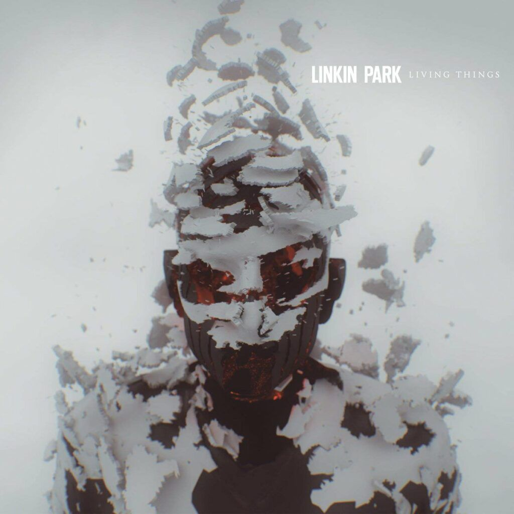 Capa do álbum Living Things da banda Linkin Park
