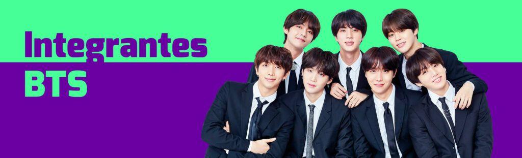 Integrantes do BTS