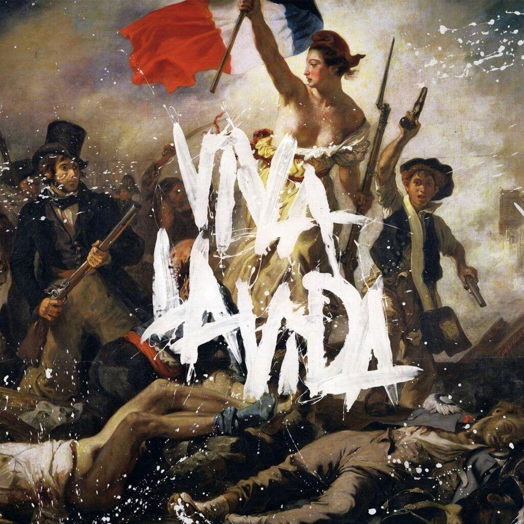 Capa do álbum Viva La Vida, do Coldplay
