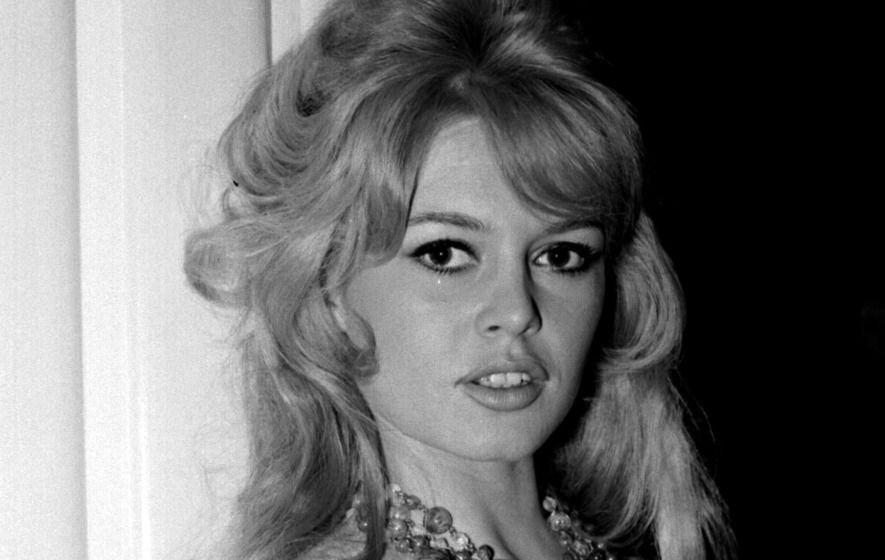 Atriz Brigitte Bardot