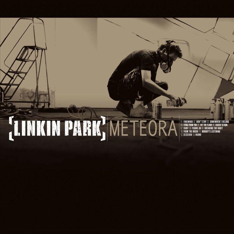 Capa do álbum Meteora da banda Linkin Park