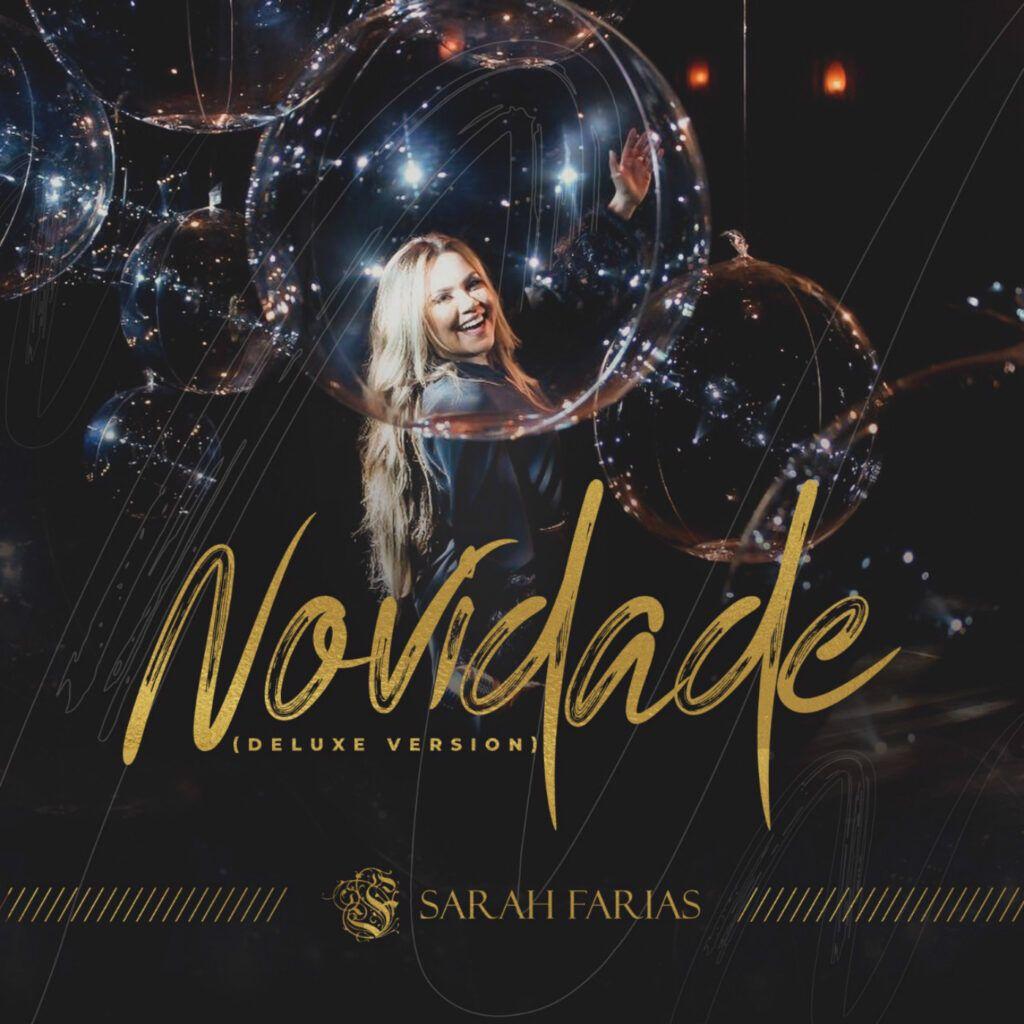 Capa do álbum Novidade, de Sarah Farias