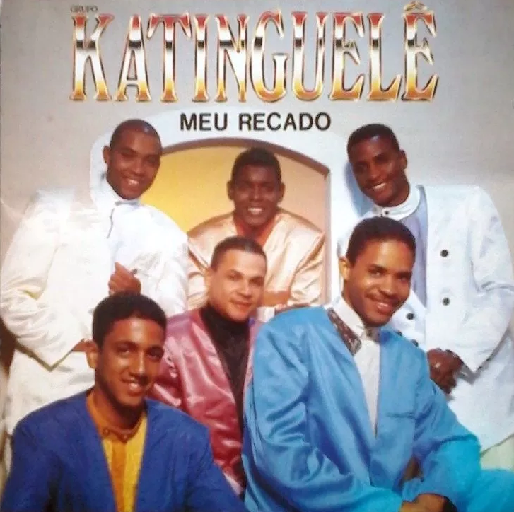 Capa do álbum Meu Recado, do grupo Katinguelê