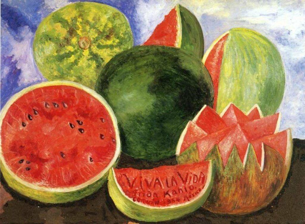 Viva La Vida, quadro de Frida Kahlo