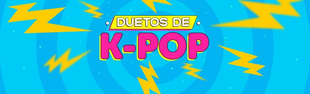 Duetos de k-pop