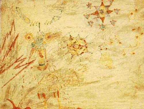 Desenho de Julian Lennon que inspirou a canção.