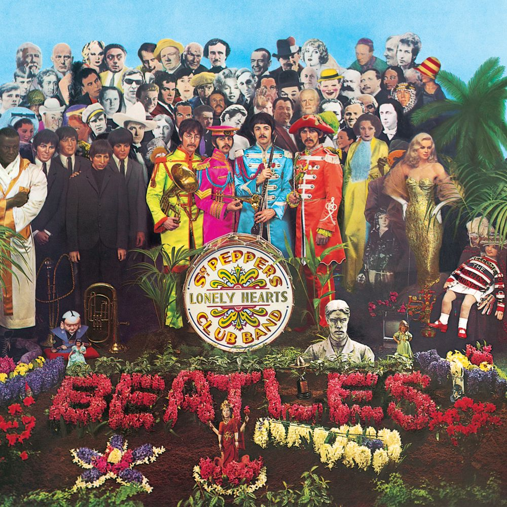 Capa do disco Sgt. Pepper's Lonely Hearts Club Band.