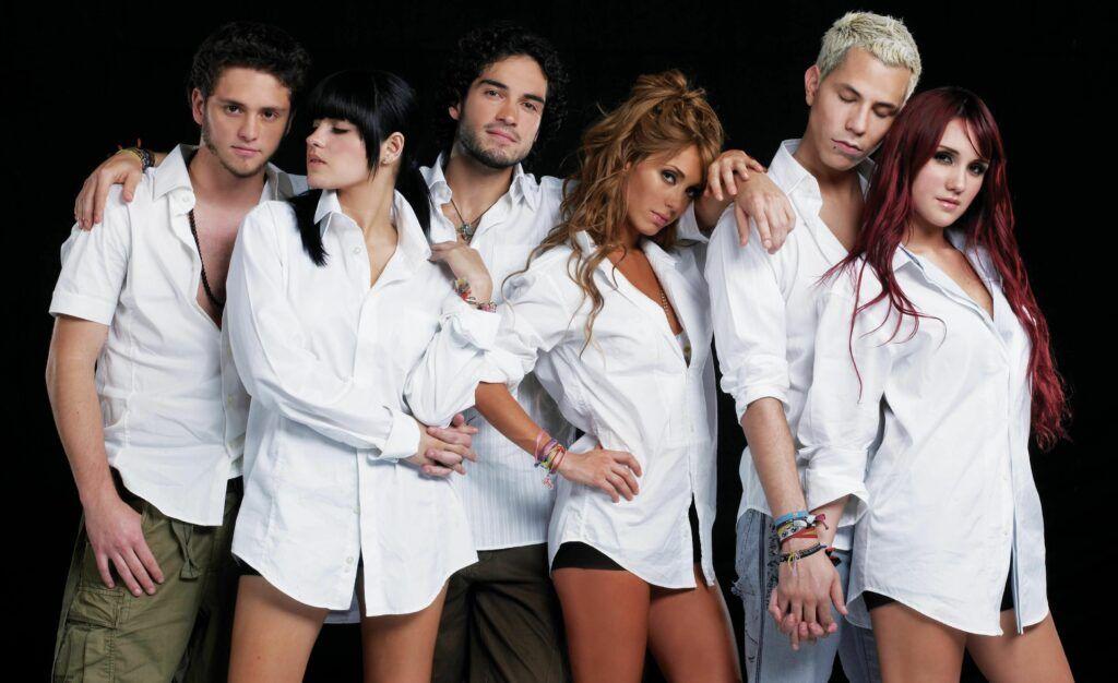 integrantes do rupo RBD