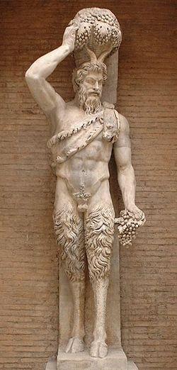 Estátua do Deus Pã
