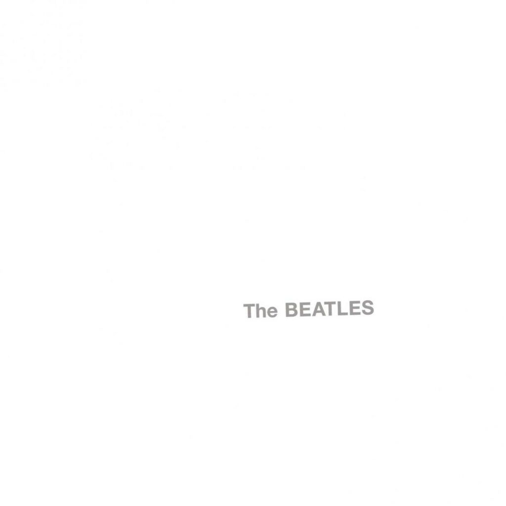 Capa do White Album, dos Beatles