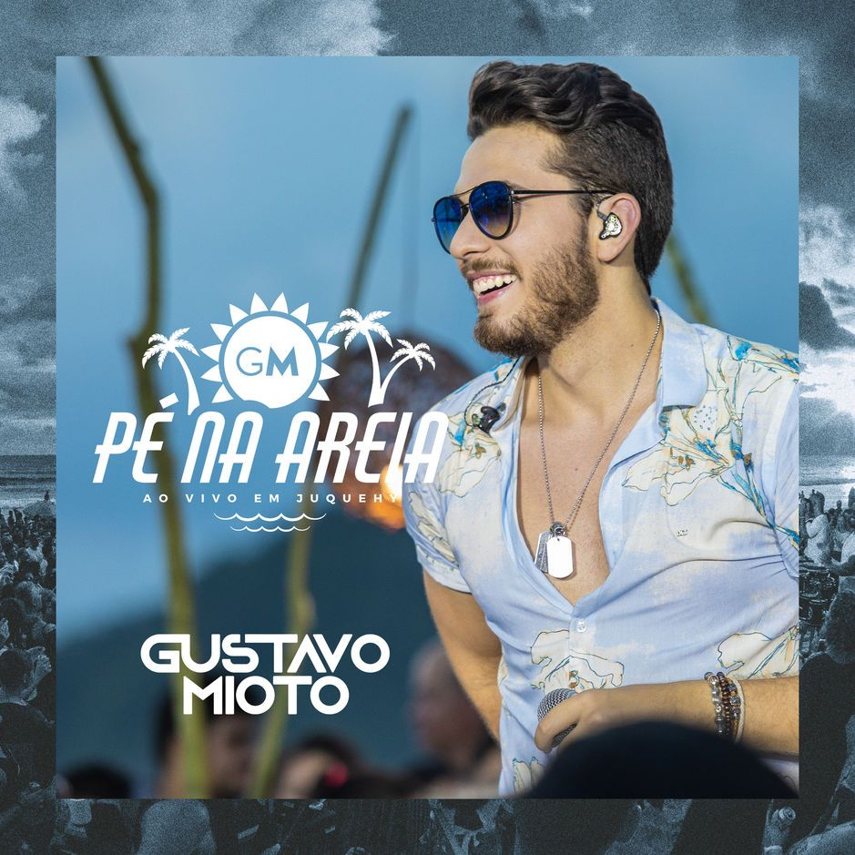 Capa do EP Pé na Areia, de Gustavo Mioto