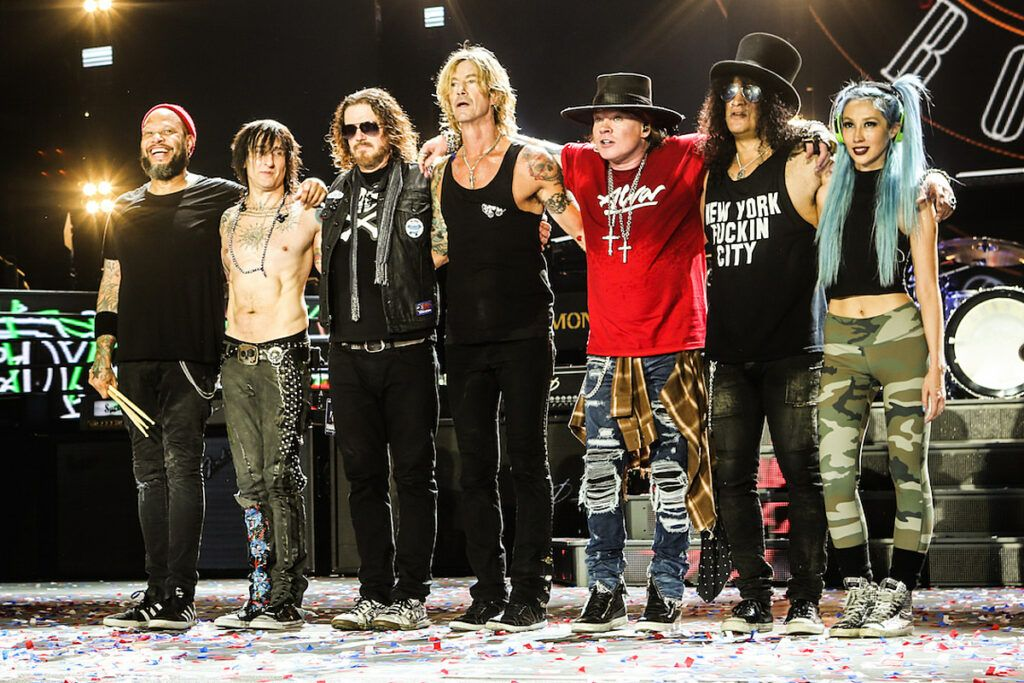 Guns N' Roses, headliner no line up do Lollapalooza