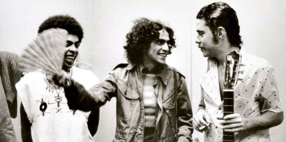 Gilberto Gil, Caetano Veloso e Chico Buarque