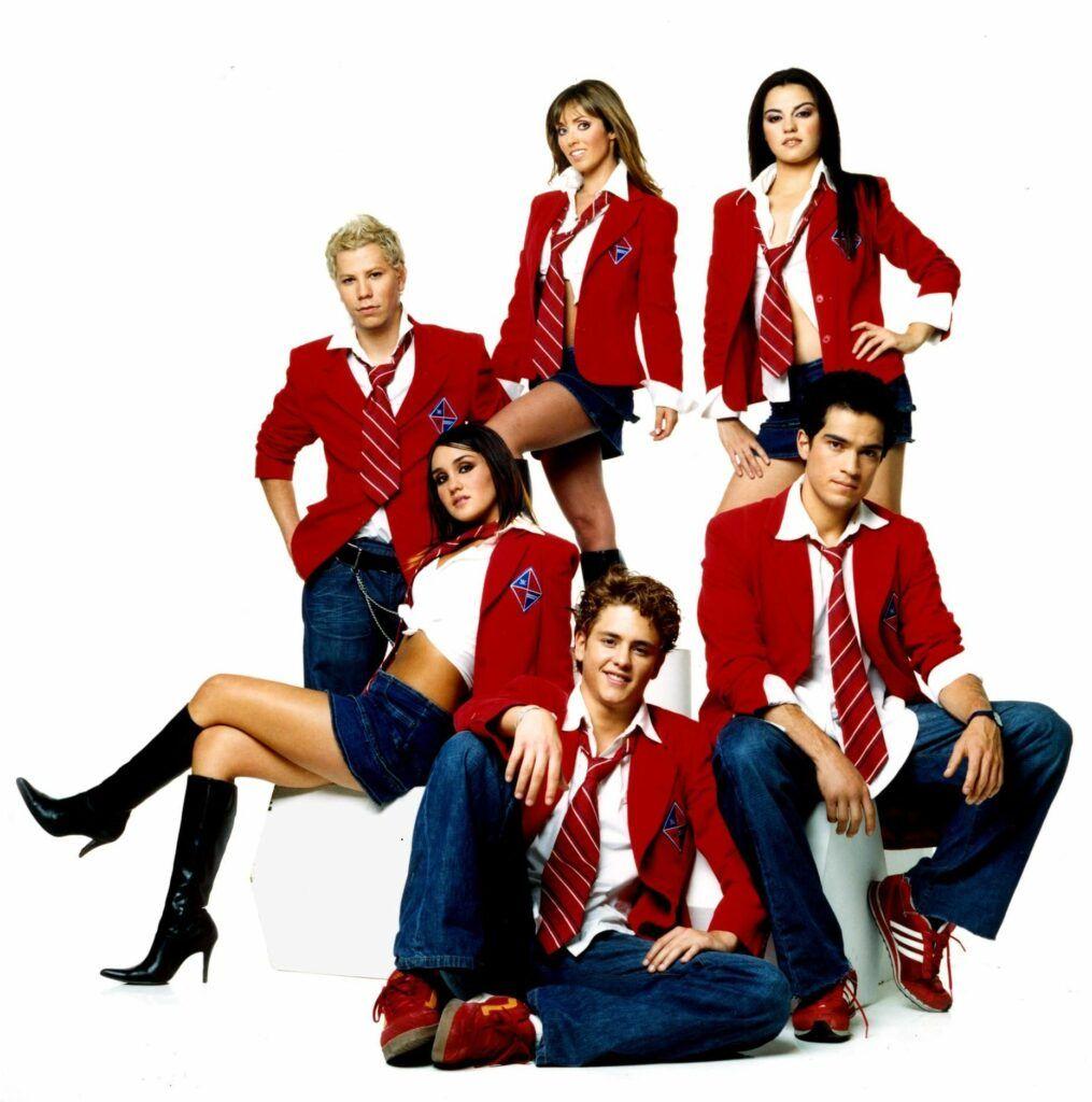 Personagens da série RBD.