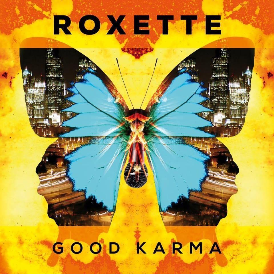 Capa do álbum Good Karma do Roxette