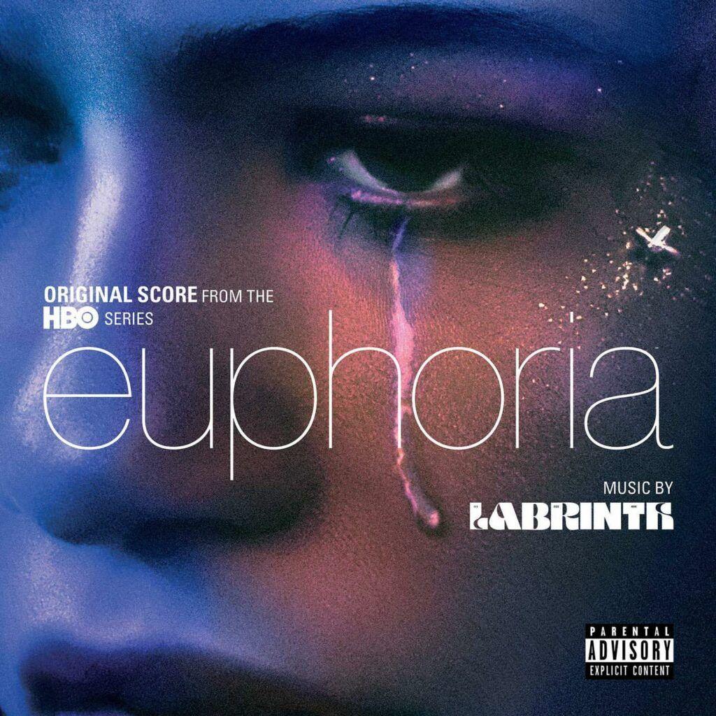 Capa do álbum da trilha sonora de Euphoria