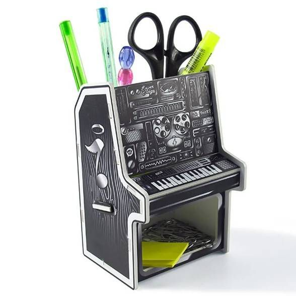 porta canetas de piano