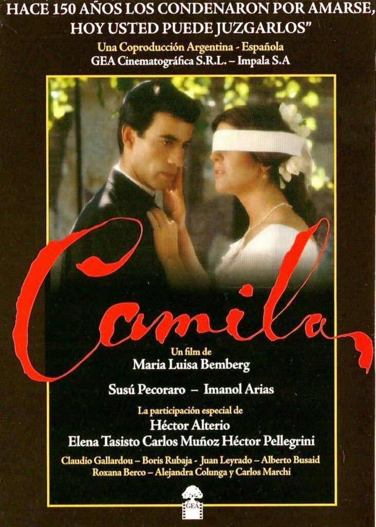 Poster do filme Camila: O Símbolo de uma Mulher