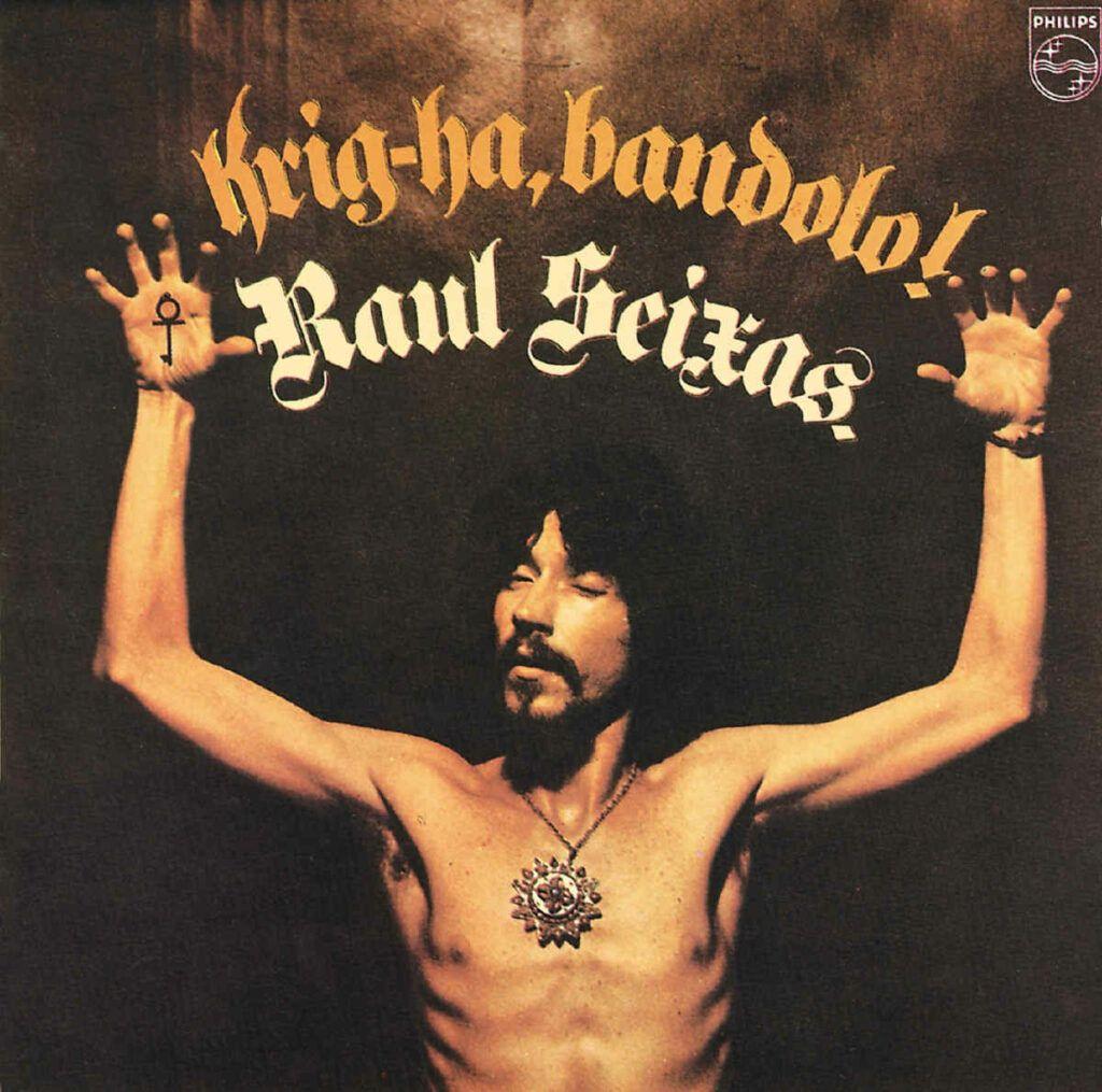 Capa do álbum Krig-Ha, Bandolo!, de Raul Seixas
