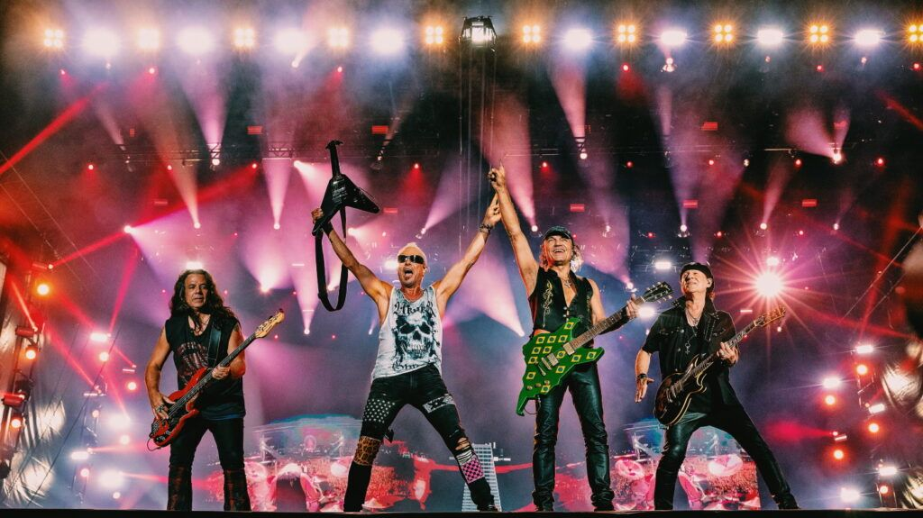 Banda Scorpions no Rock In Rio 2019