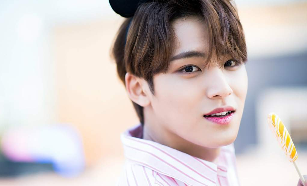 Mingyu, integrante do grupo de k-pop SEVENTEEN